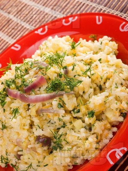 Ориз с аншоа и джинджифил - снимка на рецептата